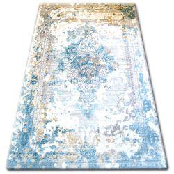 Dywan AKRYL TALAS 0300 Sand Beige/Glass Blue