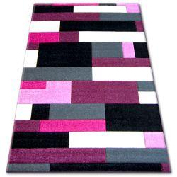 Dywan PILLY H201-8403 -  czarny/purpura