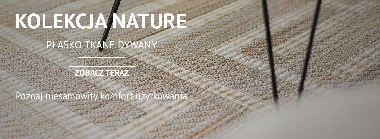 Dywany sznurkowe, sizal, płaskotkane, FLOORLUX, FLAT, NATURE, COLOR